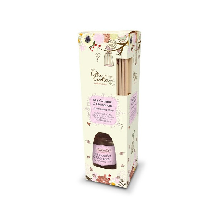 Fragrance Diffuser - Pink Grapefruit and Champagne 120ml