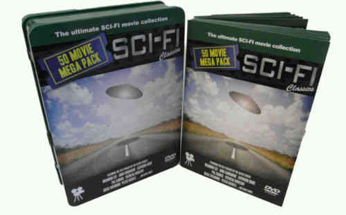 SCI-FI CLASSICS - 50 Movie Mega Pack on 12 DVD's