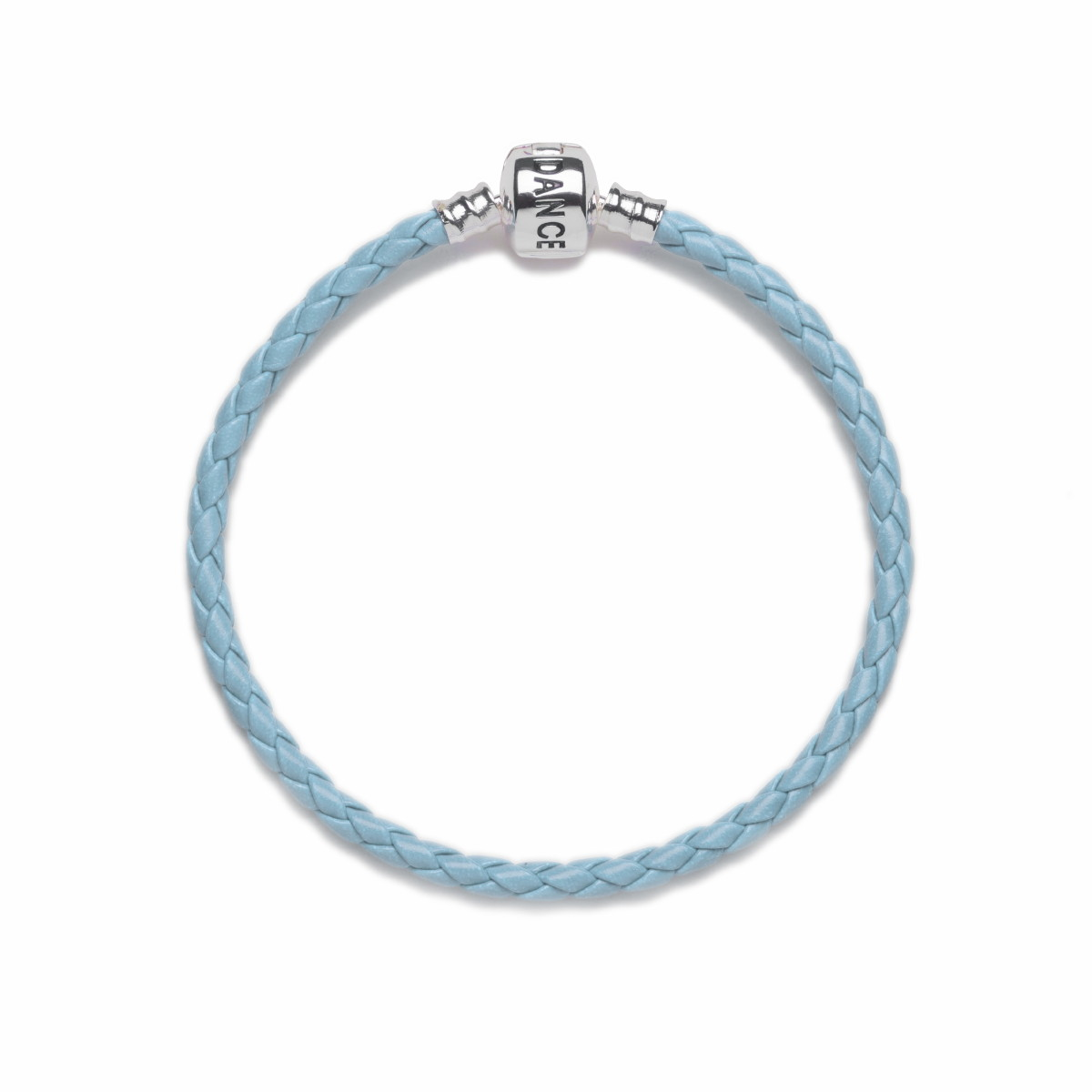 Official Riverdance20 Baby Blue Leather Style Charm Bracelet