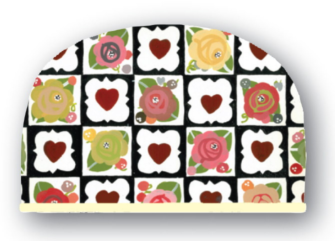 Chocolate Box Cotton Tea Cosy by Julie Dodsworth