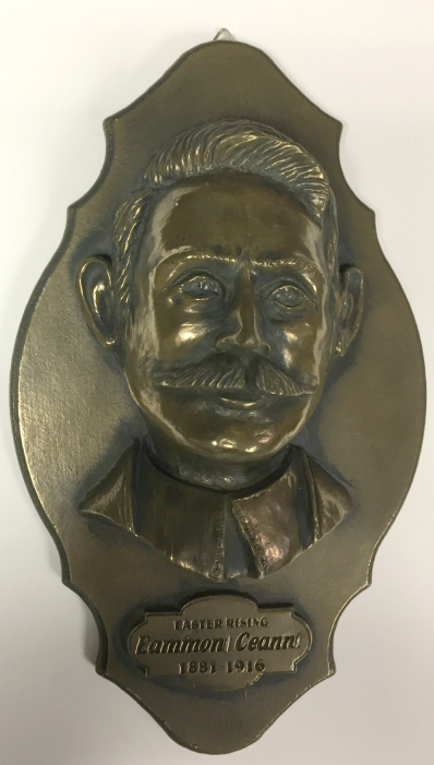 Eamon Ceannt Bronze Wall Plaque 9.6 inch
