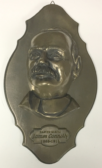 James Connolly Bronze Wall Plaque 9.6 inch