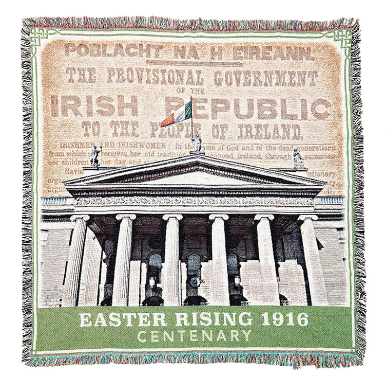 Easter Rising 1916 Centenary Throw