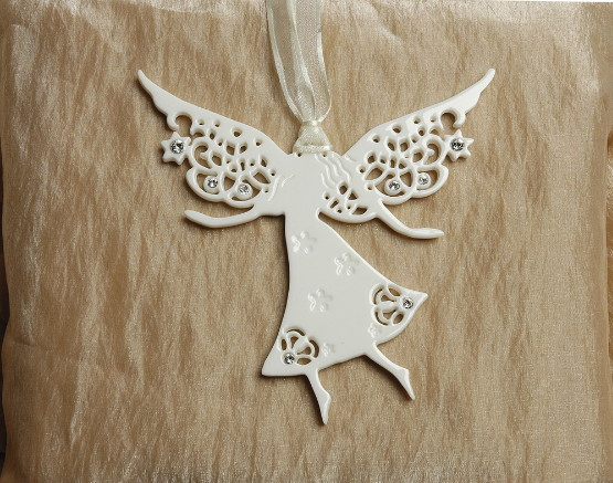 Friendship Angel/Porcelain Decoration - Click Image to Close