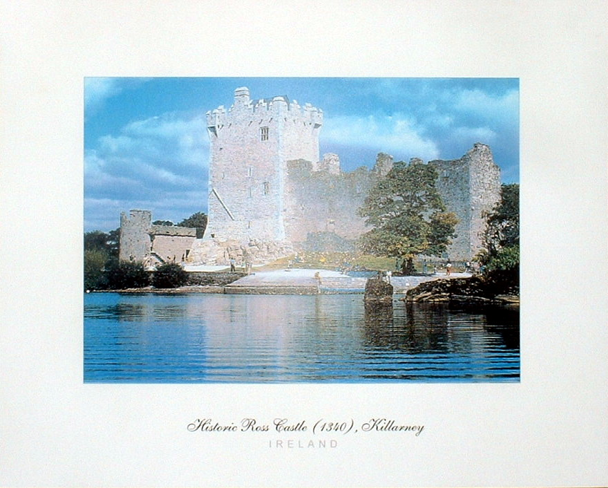 Historic Ross Castle, Killarney