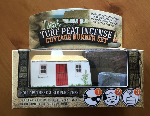 Irish Peat Turf Incense Cottages