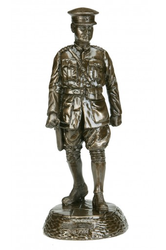 Michael Collins Large Bronze Statue 12.4 inch