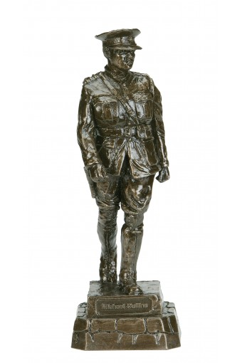 Michael Collins Small Bronze Statue 10""