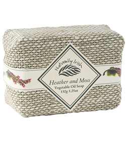 Naturally Irish Heather & Moss Vegetable Soap