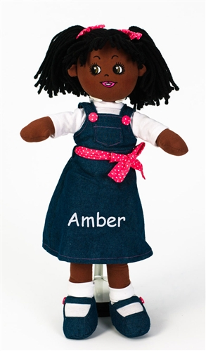 Personalised Rag Doll - Amber