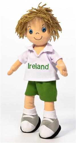 Personalised Ireland Rag Boy