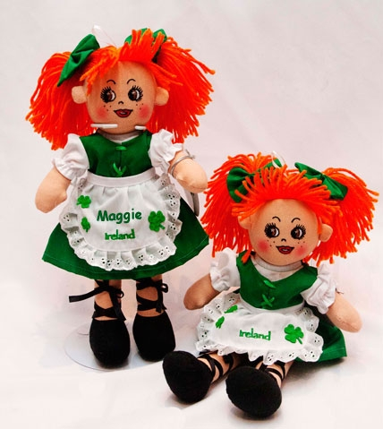 Personalised Molly Malone Rag Doll