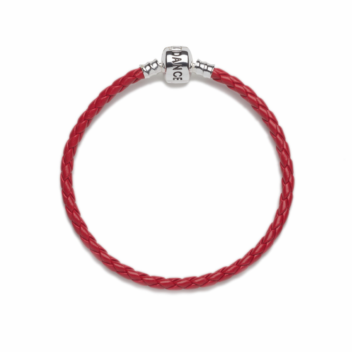 Official Riverdance20 Red Leather Style Charm Bracelet