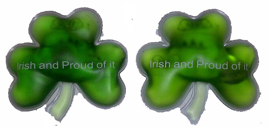 Irish Shamrock Hand Warmers (Set of 2)