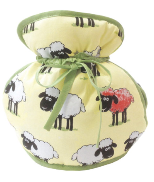 Sheepish Cotton Open Top Tea Cosy by McCaw Allan