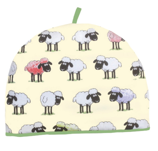 Sheepish Cotton Tea Cosy by McCaw Allan