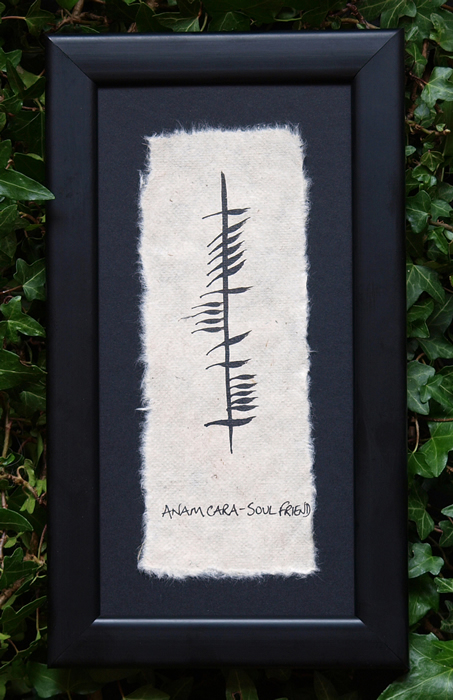 Soul Friend - Irish Made Single Ogham