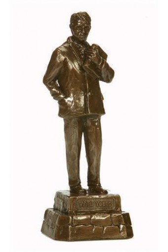 William Butler Yeats Bronze Statue 9.6""