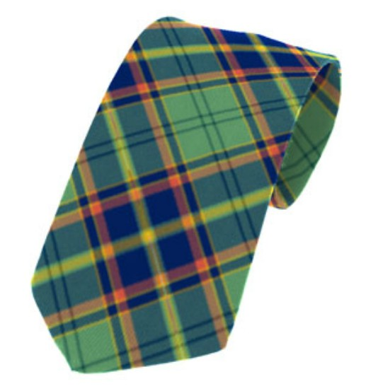Antrim County Plain Weave Pure New Wool Tie