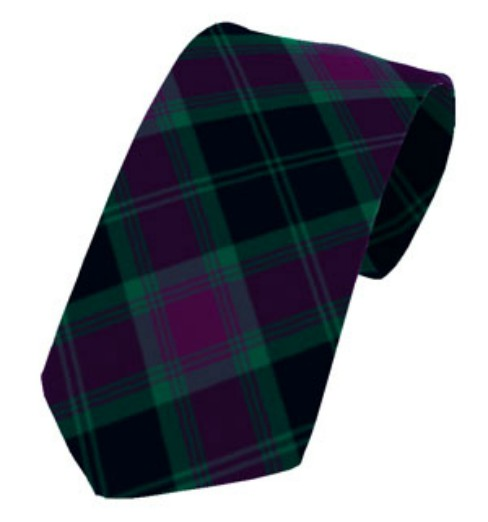 Carlow County Plain Weave Pure New Wool Tie