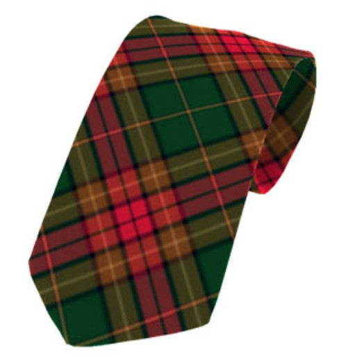 Cavan County Plain Weave Pure New Wool Tie