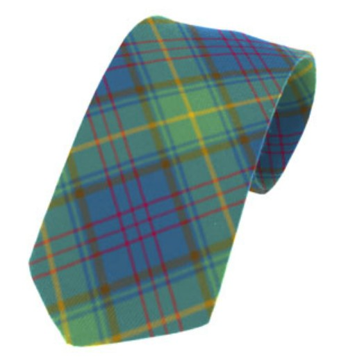 Donegal County Plain Weave Pure New Wool Tie