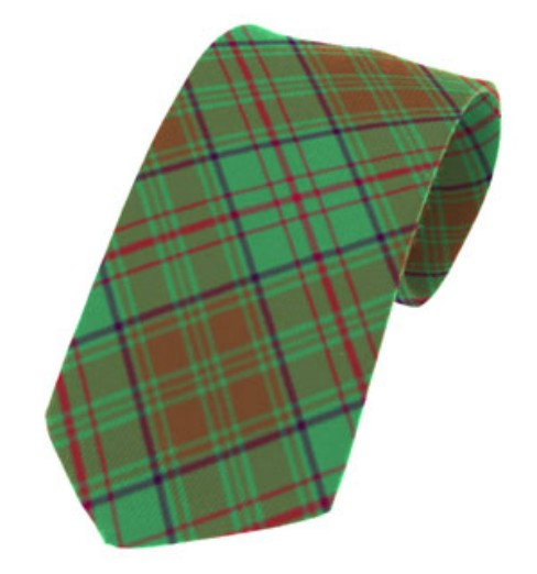 Dublin County Plain Weave Pure New Wool Tie