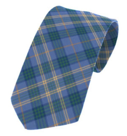 Fermanagh County Plain Weave Pure New Wool Tie
