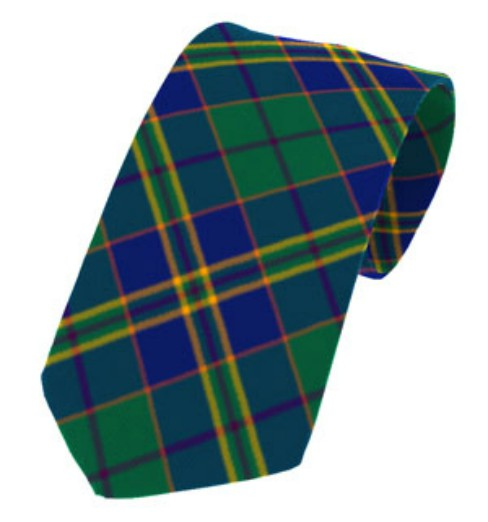 Kilkenny County Plain Weave Pure New Wool Tie
