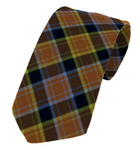 Laois County Plain Weave Pure New Wool Tie