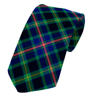 Offaly County Plain Weave Pure New Wool Tie