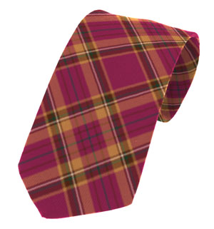 Tyrone County Plain Weave Pure New Wool Tie