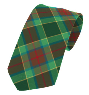 Waterford County Plain Weave Pure New Wool Tie