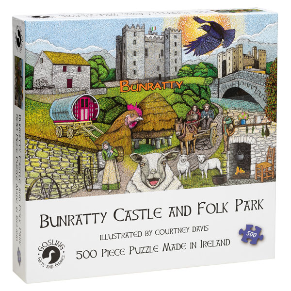 Bunratty Castle and Folk Park - 500 Piece Jigsaw Puzzle