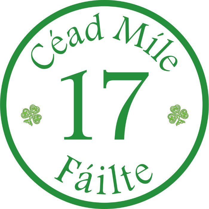 * Irish Personalized House Signs