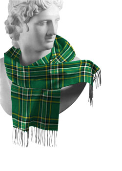 Irish County Lambswool Scarves
