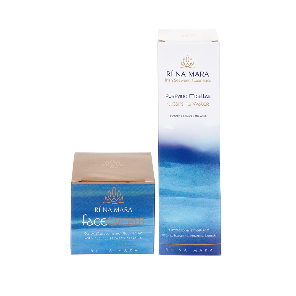 Ri Na Mara Face Cream and Cleansing Water Gift Set