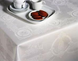 "Celtic Design Tablecloth (72"" x 90"")in a Luxury Gift Box"