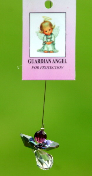 Crystal Hanging Angel/Guardian