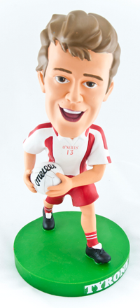 Tyrone Gaelic Football Bobblehead Figurine | Irish Sport